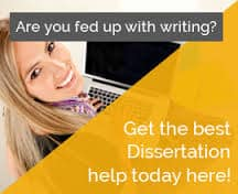 Commerce PhD dissertation writing help