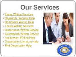 Doctorate dissertation writing help online