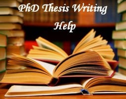 Phd help writing