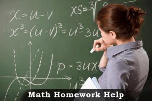 Math homework help online